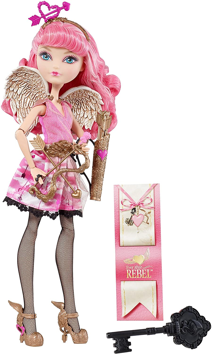 Ever After High First Chapter C.A Cupid Replacement Shoes Heels Bronze
