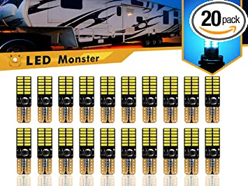 Review LED Monster 20-Pack Ice