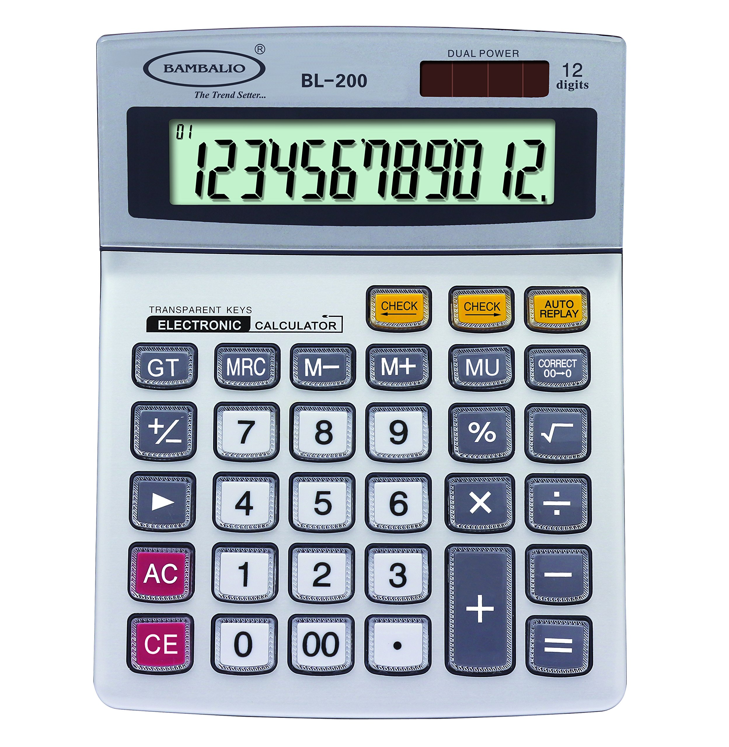 Bambalio BL200, 12 Digit Calculator product image