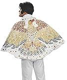 Elvis Cape with Eagle Design Costume, White, One