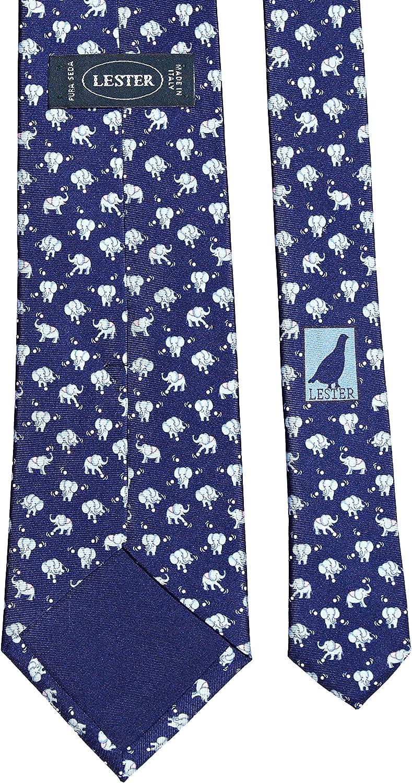 Lester Corbata Elefantes Pelota Azul: Amazon.es: Ropa y accesorios