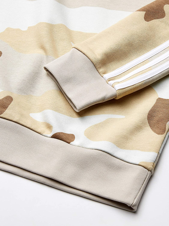 adidas Originals Mens Camo Crewneck Sweatshirt