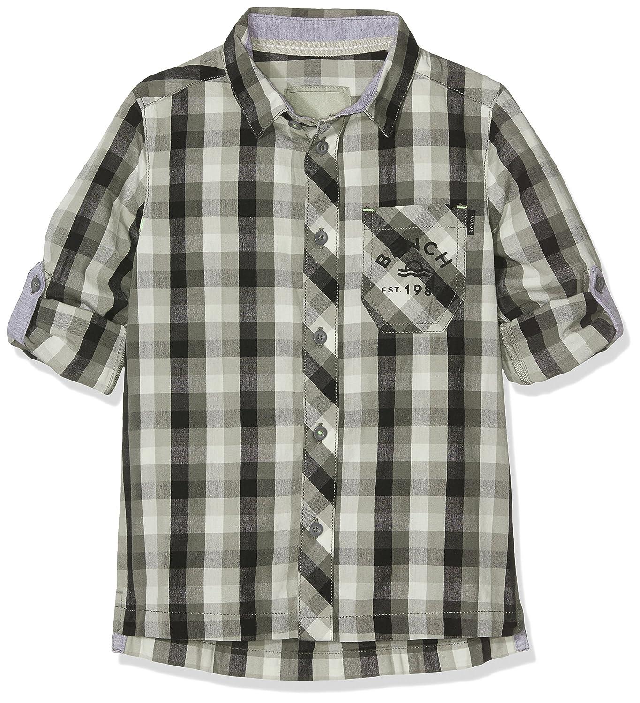 Bench Jungen Hemd Check Shirt Schwarz (Black BK022) BBAK0180