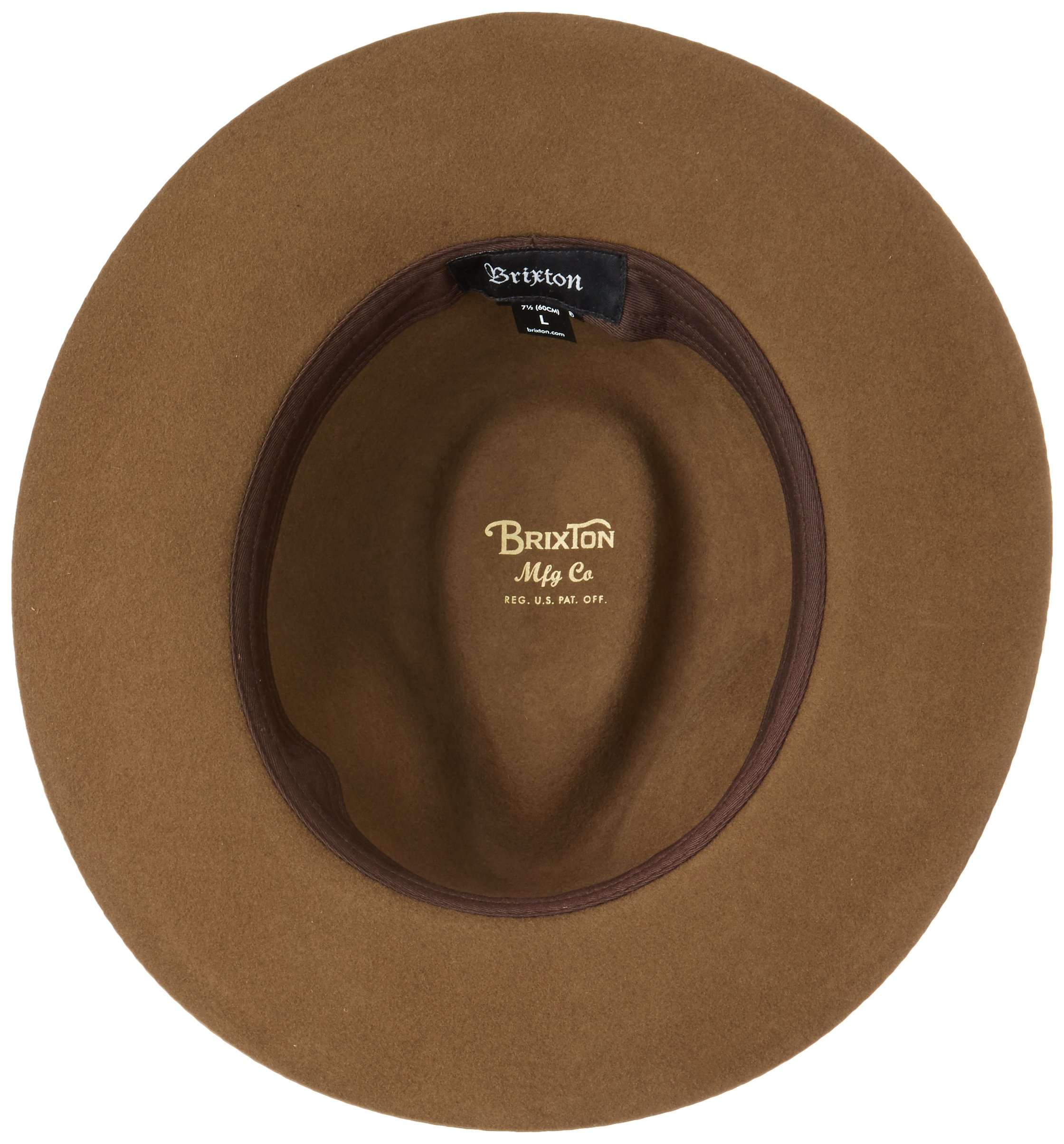 e8dd3f61 Brixton Men's Wesley Fedora Hat - BRG0302WEF < Fedoras < Clothing, Shoes &  Jewelry - tibs