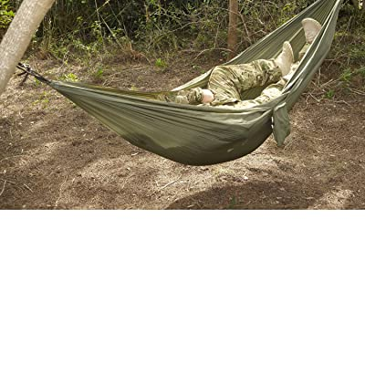 Snugpak Tropical Hammock, Lightweight Parachute Nylon, Includes 2 Steel Carabiners, Supports 400 Pounds : Camping Hammocks : Sports & Outdoors