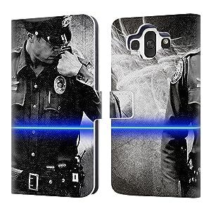 Official Jason Bullard Send Me Law Enforcement Leather Book Wallet Case Cover For LG AKA
