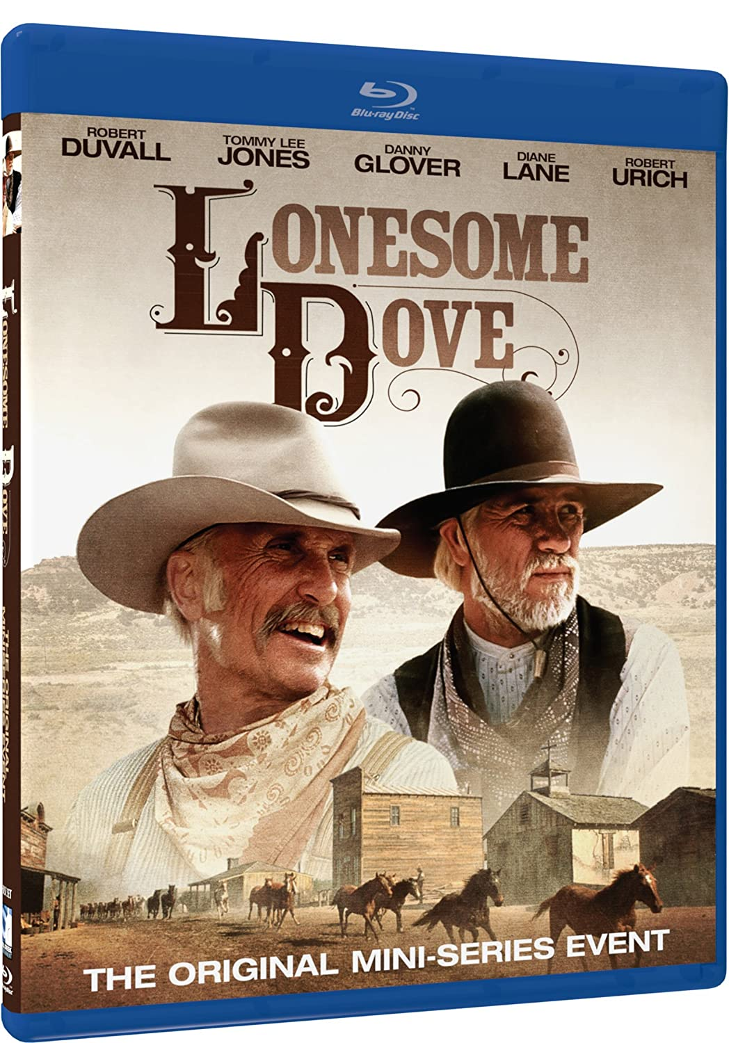 Lonesome Dove - Blu Ray [Blu-ray] Robert Duvall Tommy Lee Jones Danny Glover Simon Wincer