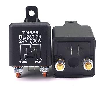 Batterie Trennrelais 12V 300A 150A Relais KFZ PKW BOOT CAMPING WOHNMOBIL 200A