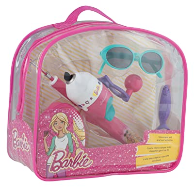 Shakespeare Barbie Backpack Fishing Kit: Sports & Outdoors