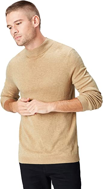 TALLA M. Marca Amazon - find. Turtle Neck - Suéter Hombre