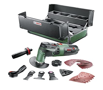 speical offer closer at shop best sellers Bosch Outil multifonction PMF 250 (250 W, 39 accessoires ...
