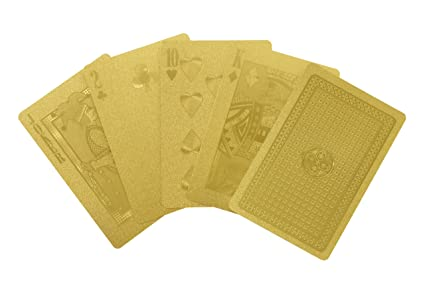 Amazon.com: Idea International Gold Deck of Cards: Sports ...