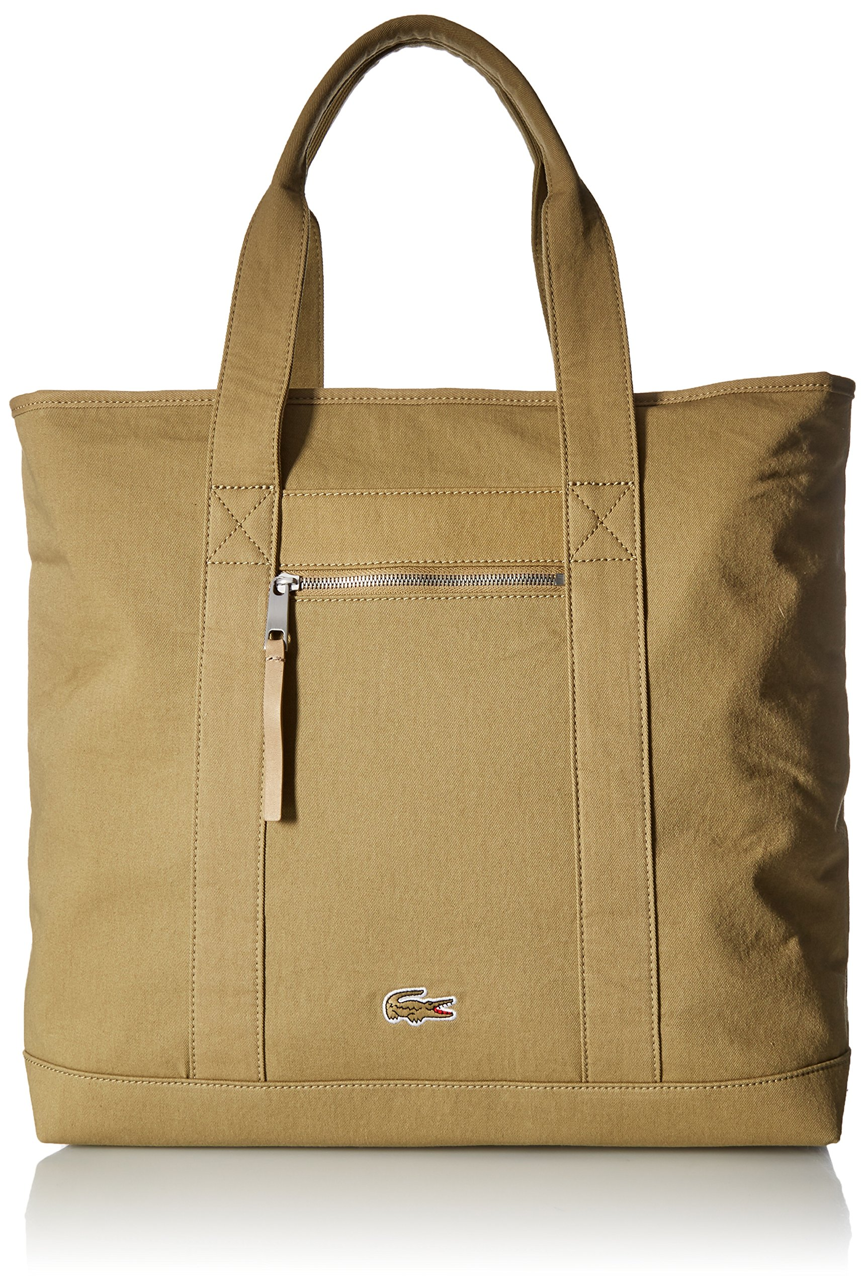 Lacoste Men's MEN'S SUMMER LARGE SHOPPER BAG Accessory, -slate green, ONE