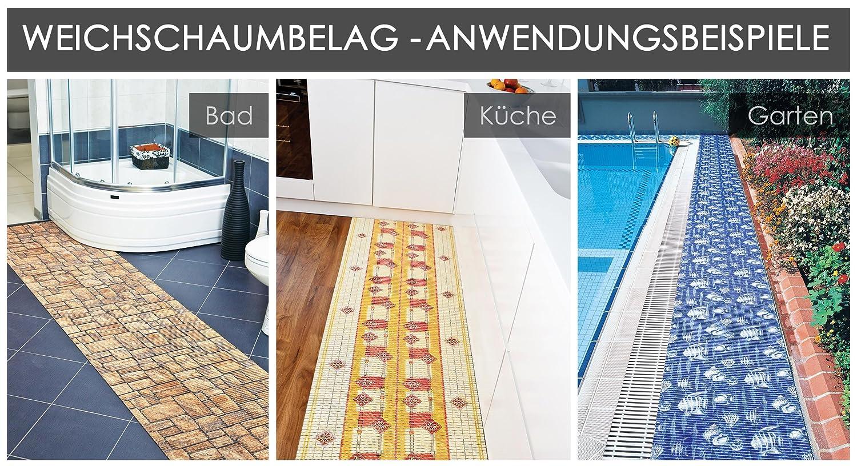 Badvorleger, Aquamat Antirutsch Matte, Bodenbelag, Bad Garten Küche ...