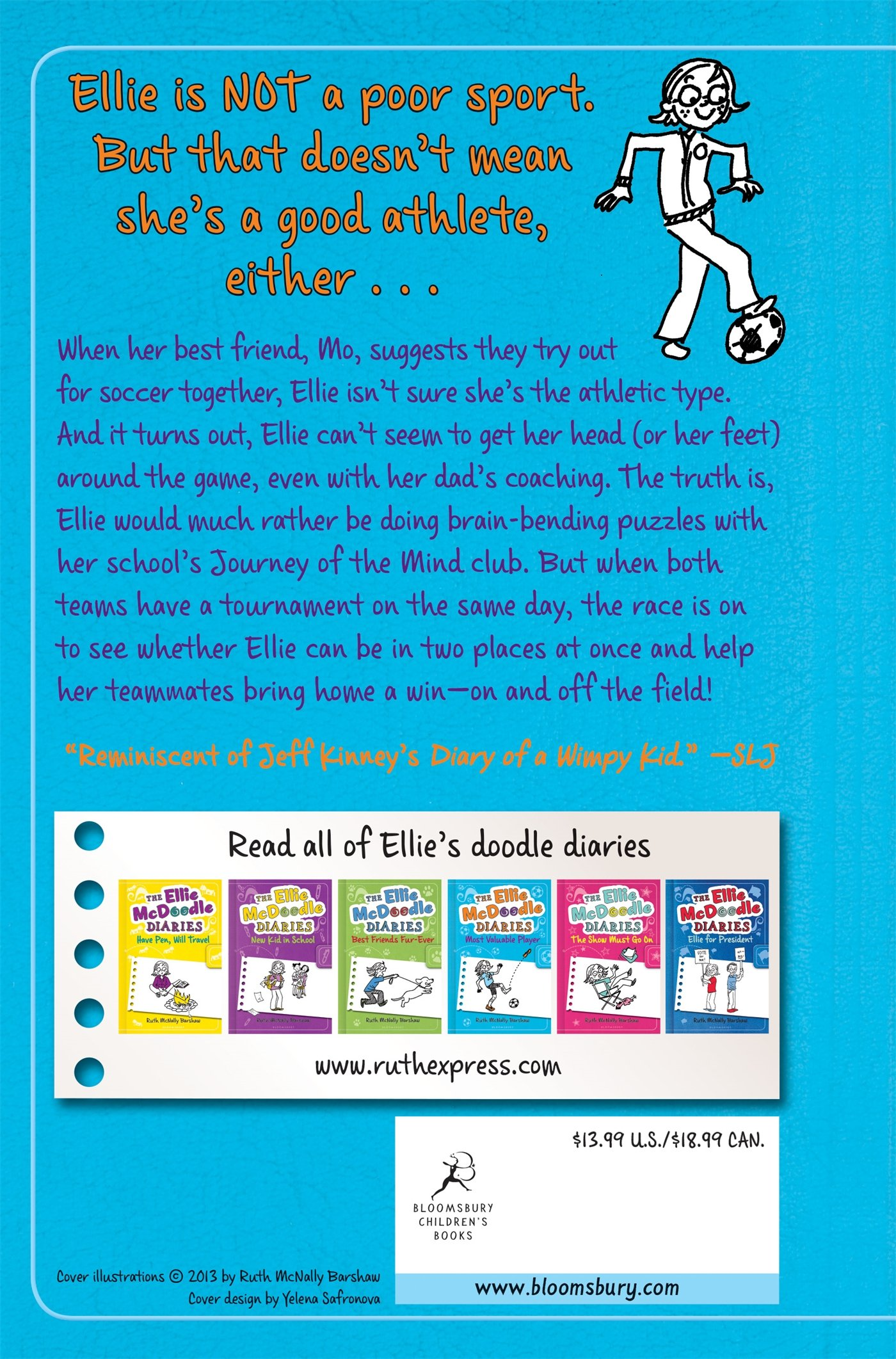 The Ellie McDoodle Diaries: Most Valuable Player: Ruth McNally Barshaw:  9781619631762: Amazon.com: Books