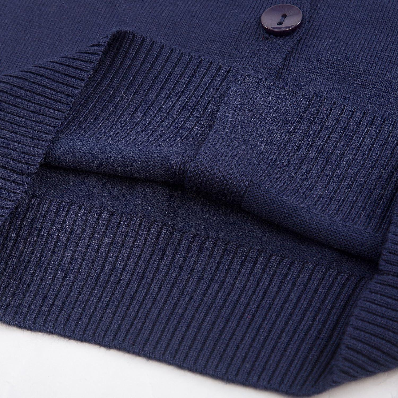 GRACE KARIN Little Girls Long Sleeve Cardigan Sweaters AM2004