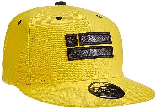 D.Franklin Chrome Snapback, Gorra Unisex, Yellow, Única