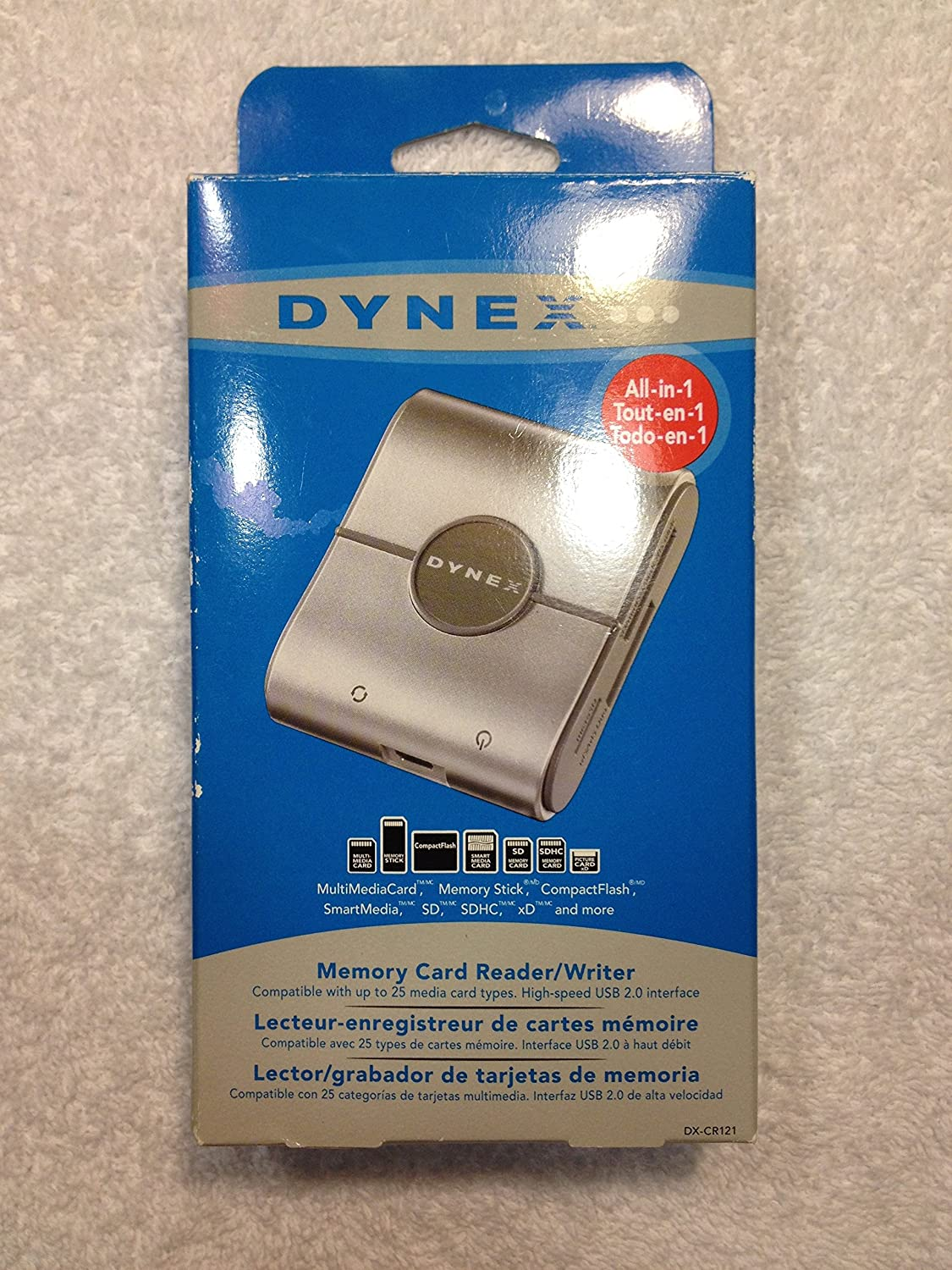 DX-CR121-USB-Memory-Card-Reader