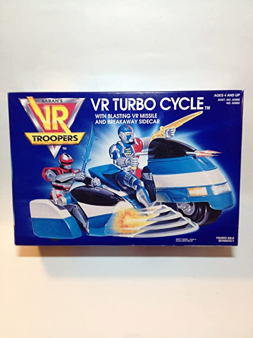 VR Troopers Sabans VR Turbo Cycle Moto Turbo VR