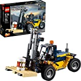 LEGO Technic Heavy Duty Forklift 42079 Building Kit (592 Pieces) (Discontinued by Manufacturer)