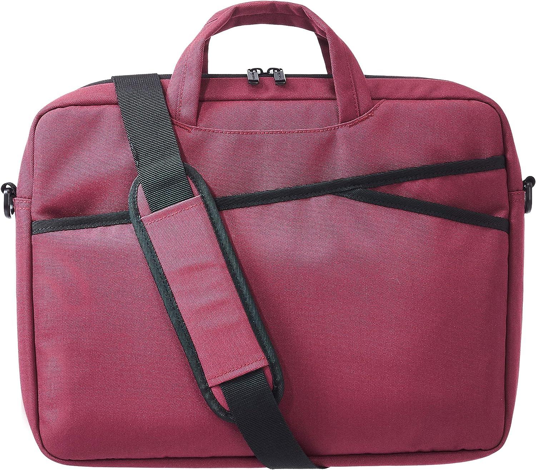 AmazonBasics Business Laptop Case Bag - 15-Inch, Maroon