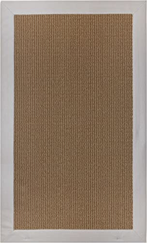 Pure Floor Mat and Area Accent Rug 19.6 x 31.5 Non-Skid Backing Gray