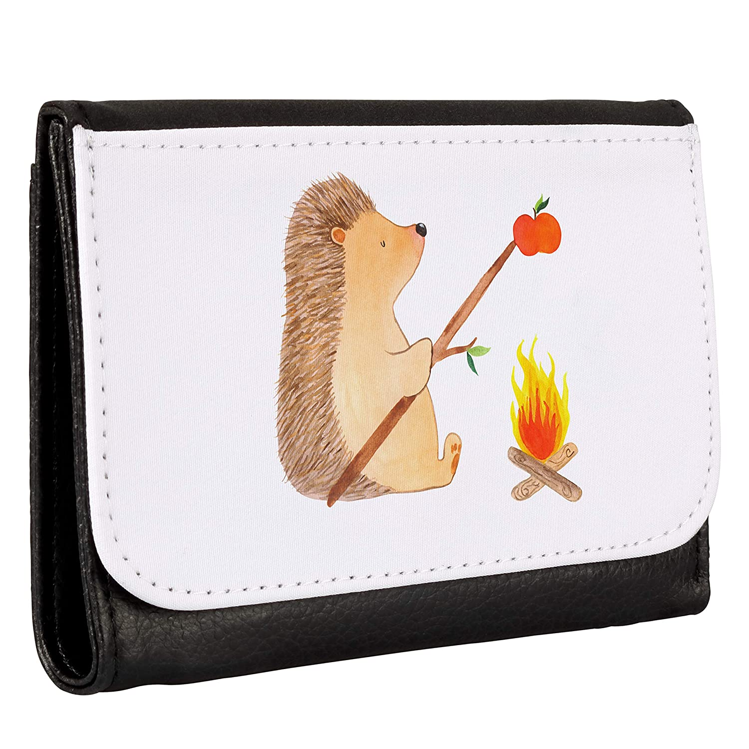 Mr. & Mrs. Panda Igel grillt - Cartera para Hombre, Color ...
