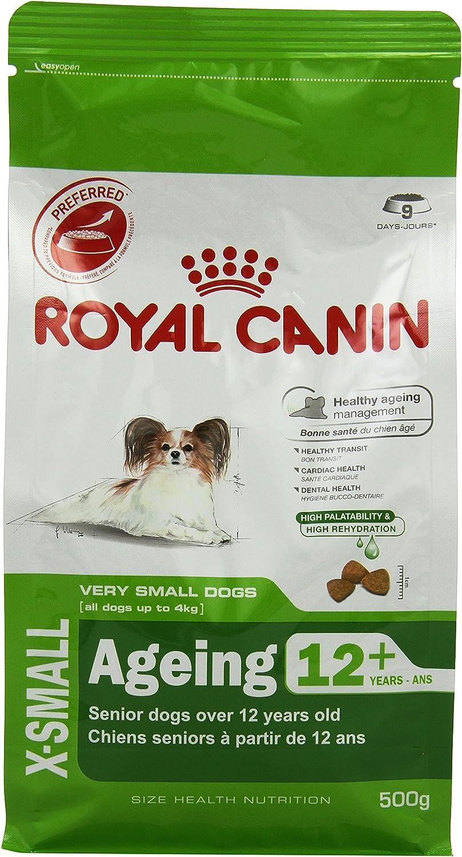 Royal Canin Comida para perros Xsmall Ageing 12+, 500 Gr