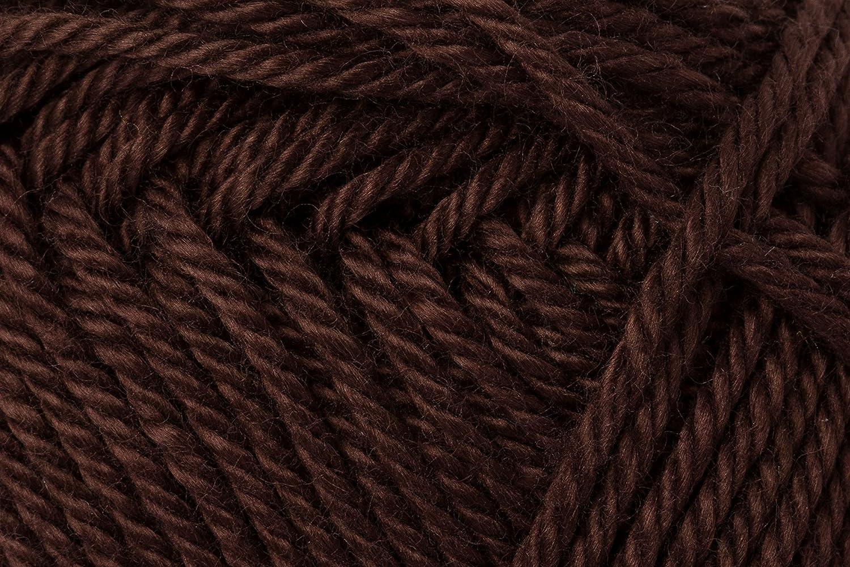 Schachenmayr Ovillo Hilo de algodón para Punto y Ganchillo Catania 9801210, algodón, café, 11,5 x 5,2 x 6 cm: Amazon.es: Hogar