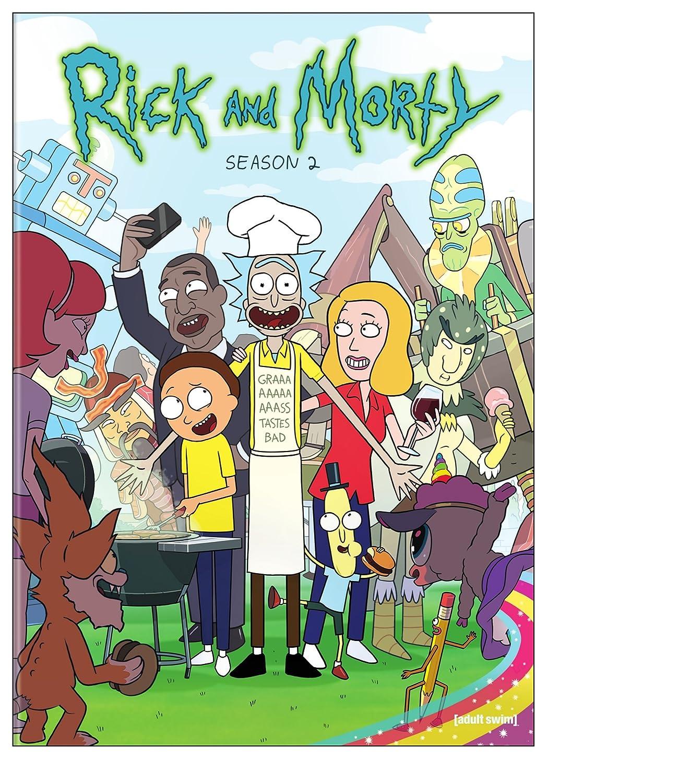 Rick and Morty: Season 2 Various Warner Bros. 35383206 Cartoons & Animation