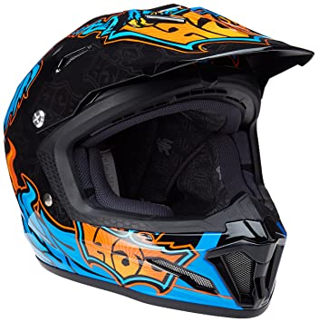 HJC CL-XY II Eye Fly MC-2 - Casco de ciclismo para jóvenes