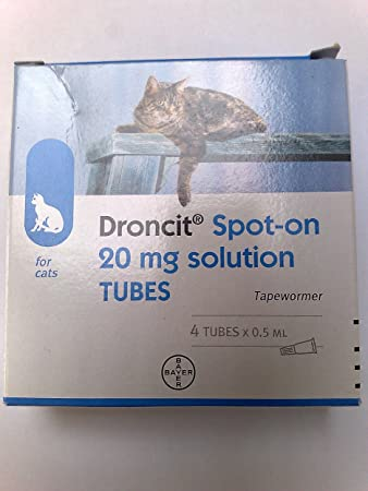 Universal Droncit Spot On Tubes For Cats 0 5 Ml Amazon Co Uk Pet Supplies