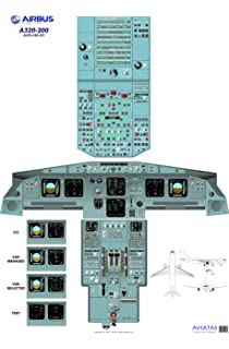 Airbus A380 Cockpit Poster - Digital download: Amazon co uk: Office