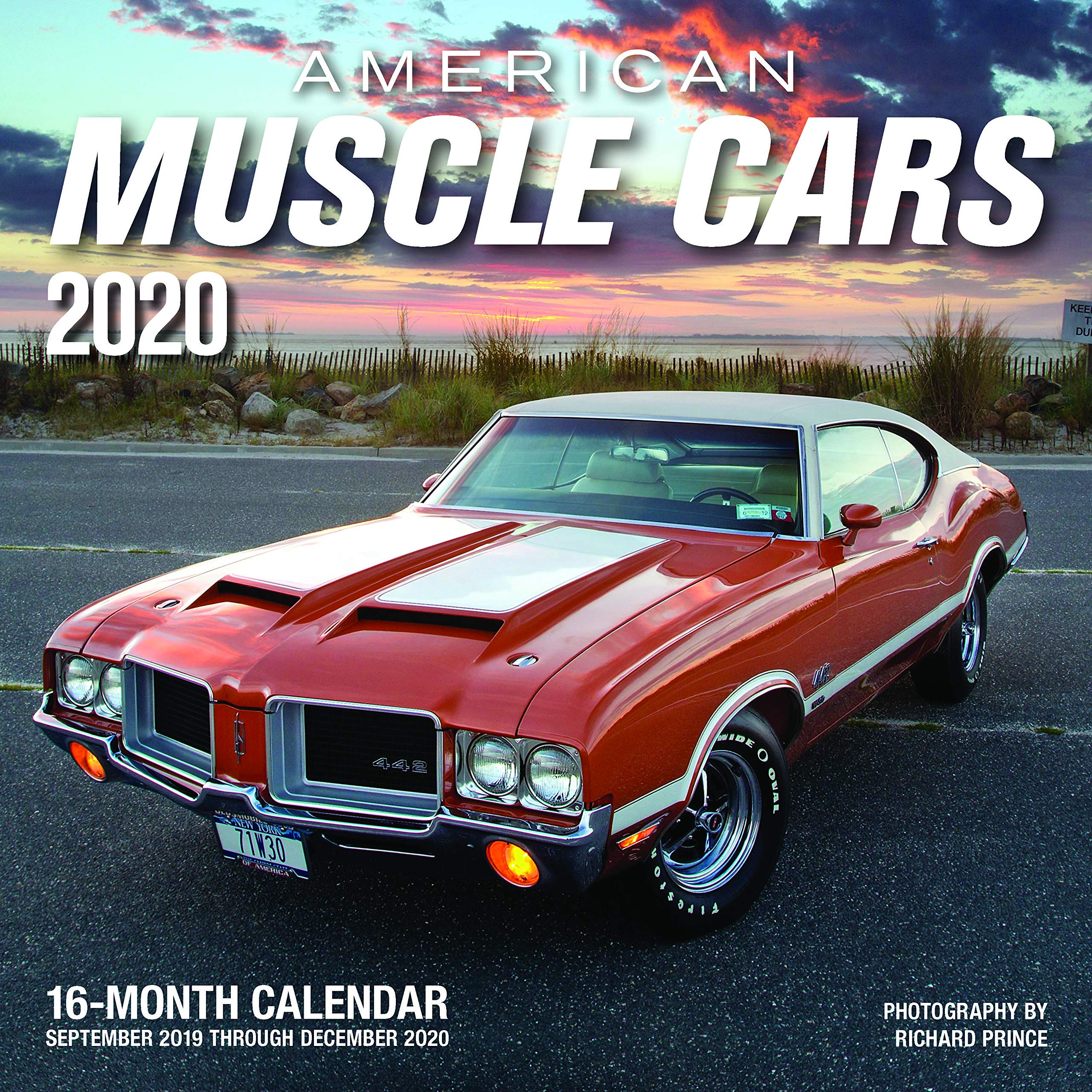 American Muscle Cars 2020 16 Month Calendar Includes September 2019