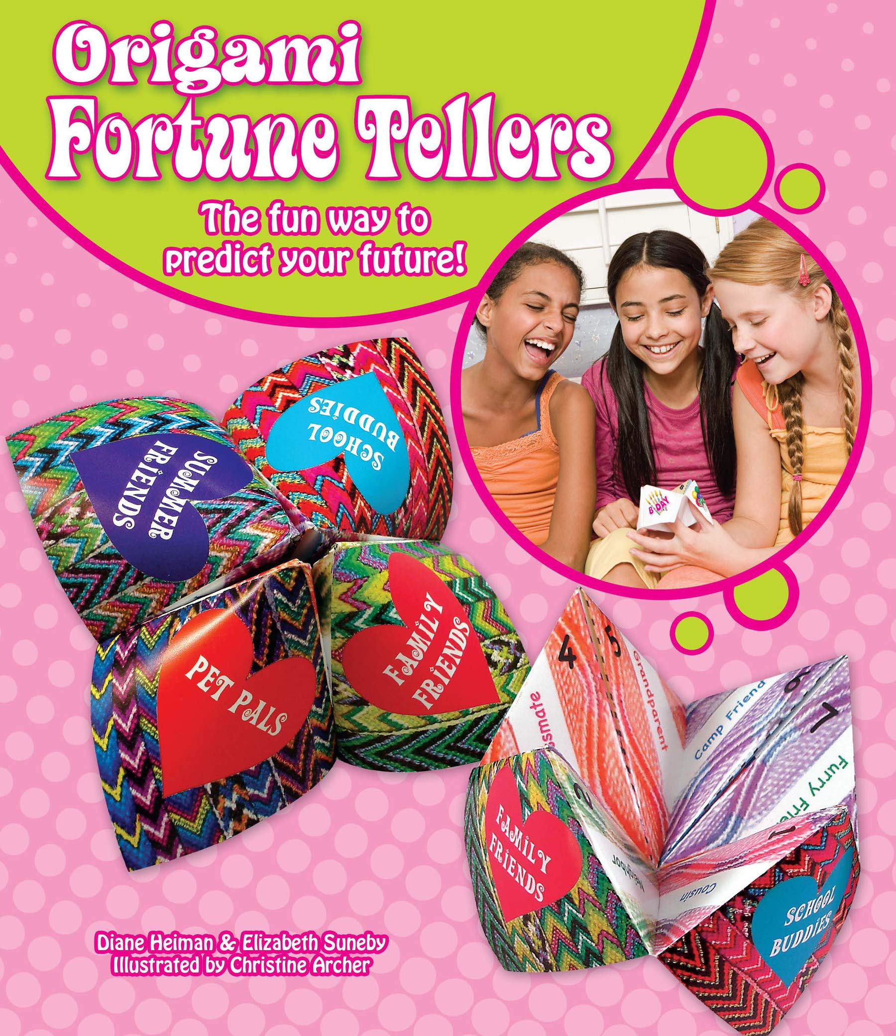 How to Fold an Origami Fortune Teller + How to Use : 7 Steps (with ... | 2080x1800