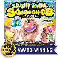 Squoosh-Os Slushy Swirl DIY Stress Toy Kit