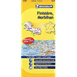 Michelin Map France: Finistre, Morbihan 308