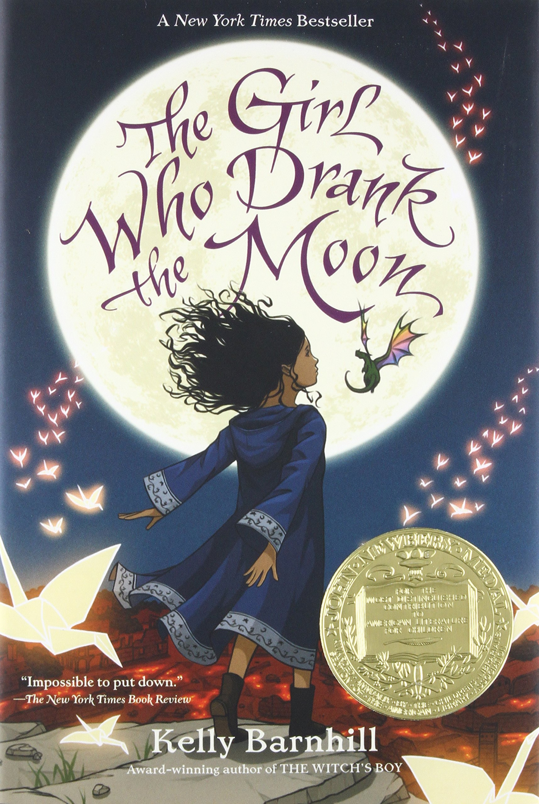 Buy The Girl Who Drank the Moon Book Online at Low Prices in India ...