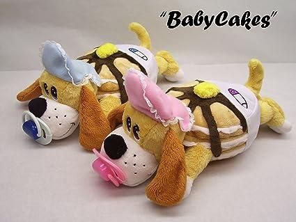 Amazon Com Pancake Puppies Baby Cakes Plush Toy Dog 16 Inch