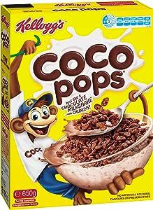Kellogg's Coco Pops, 650 g, Chocolatey