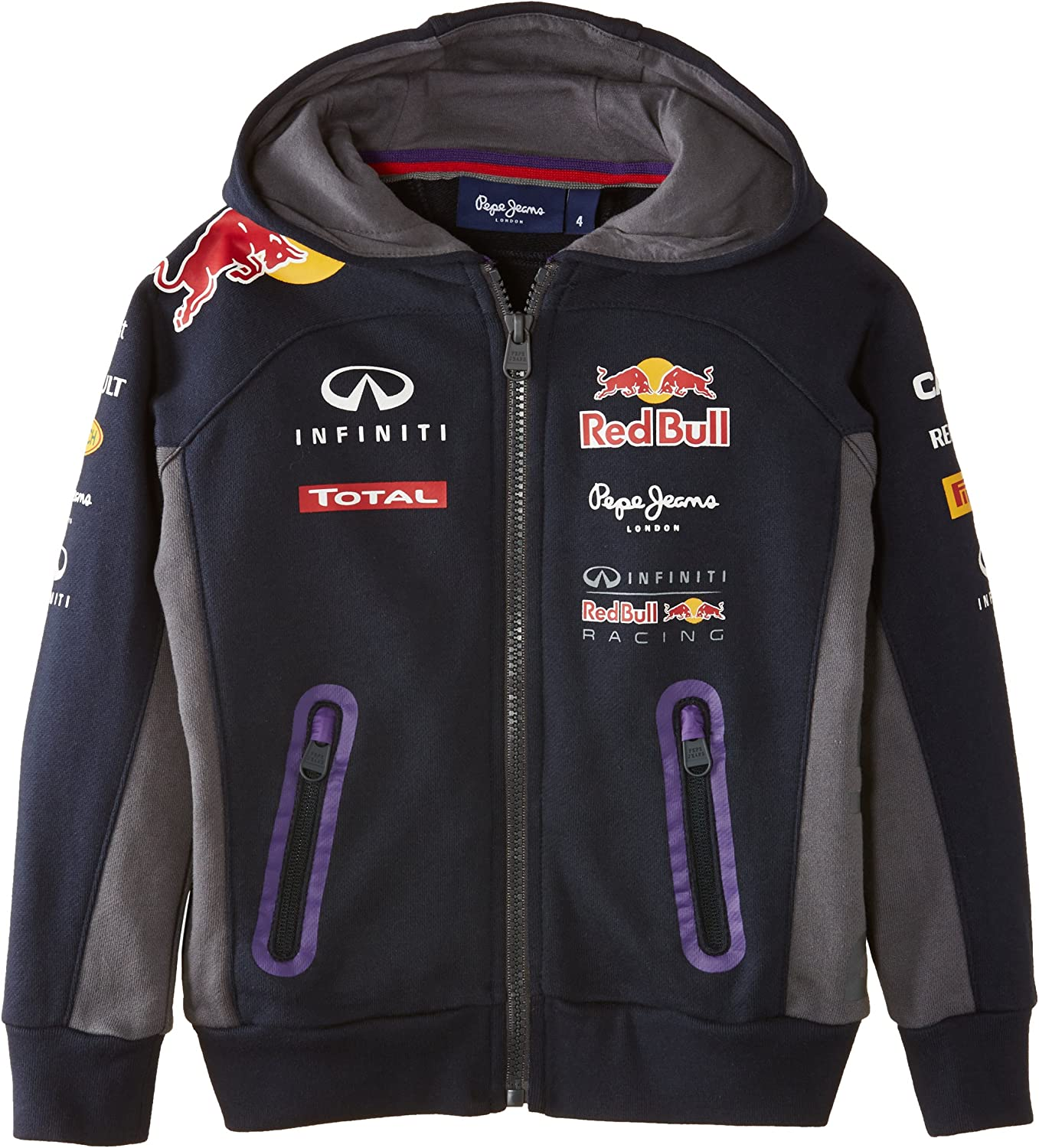 Red Bull Racing Sweat à Capuche pour Homme