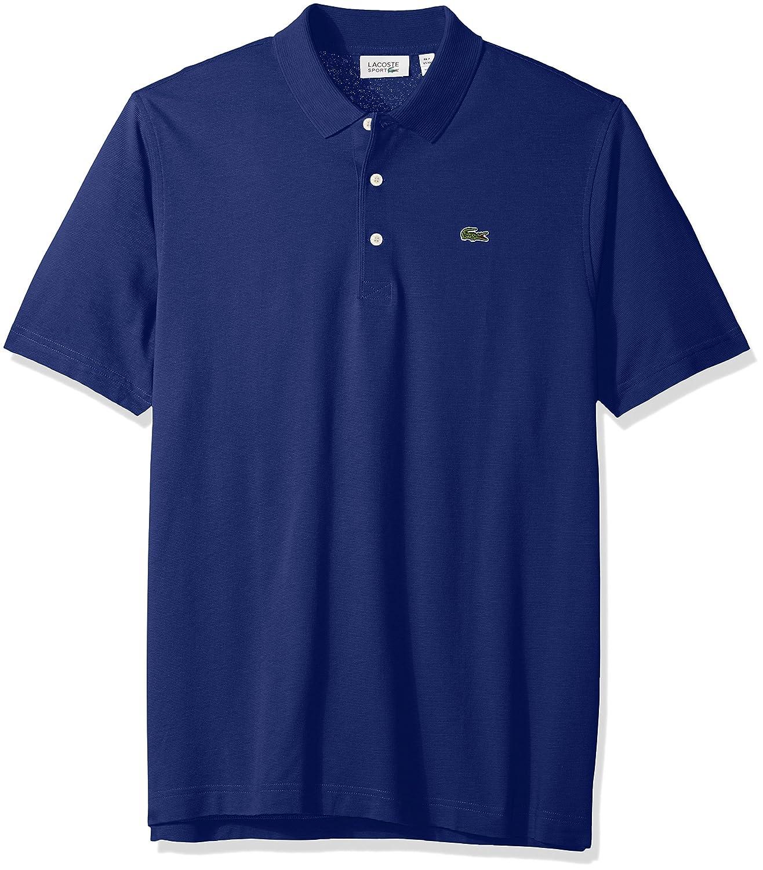 Amazon.com  Lacoste Mens Sport Short sleeve super Light jersey Polo Shirt   Clothing d99e15cf3af