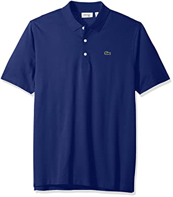 00f397ac0 Amazon.com  Lacoste Mens Sport Short sleeve super Light jersey Polo Shirt   Clothing