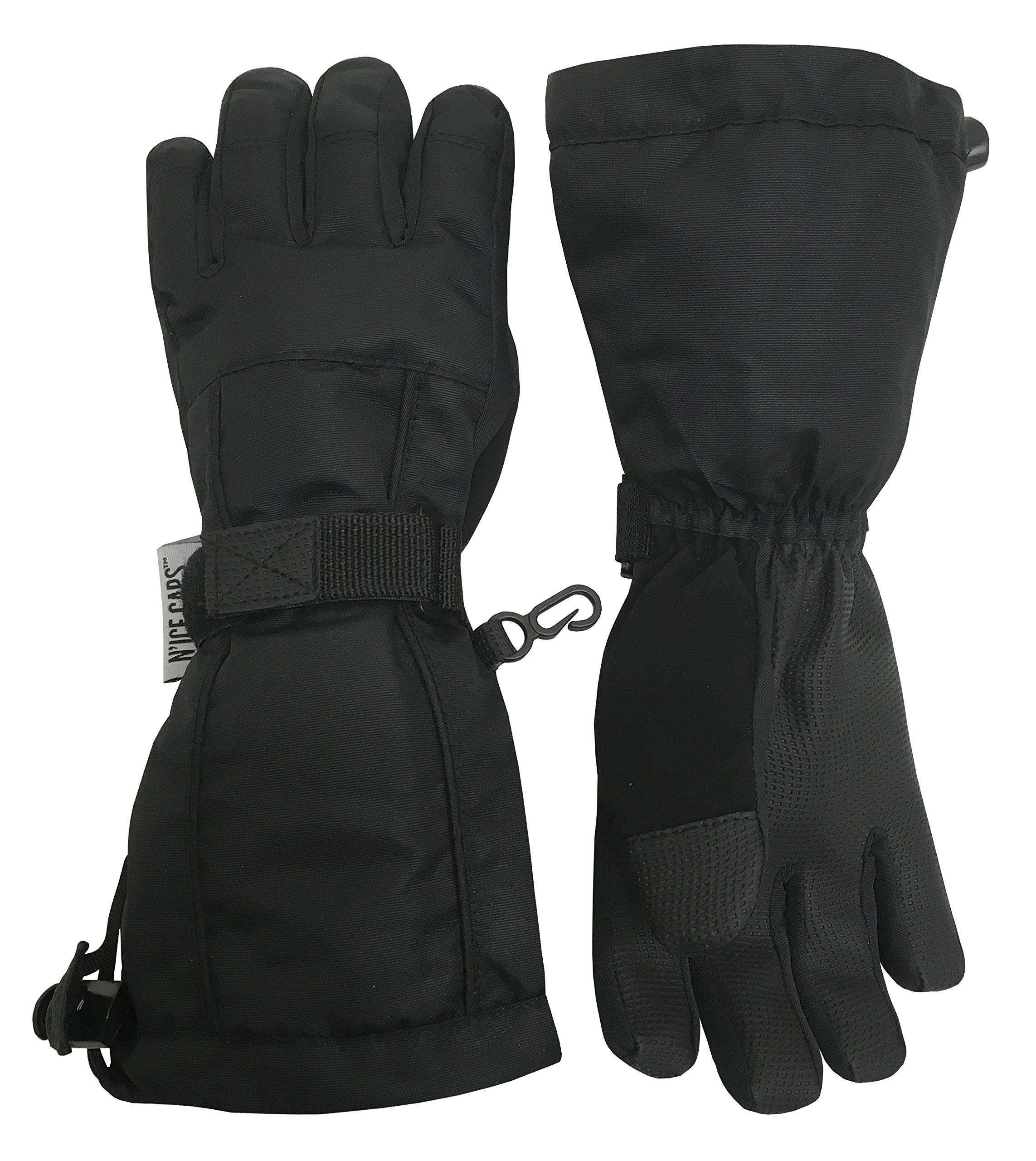 372bc582a N'Ice Caps Kids Extreme Cold Weather 100 Gram Thinsulate Waterproof Ski  Gloves product image
