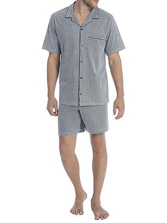 0e61e43f3d3122 Seidensticker Herren Kurzer Pyjama Schlafanzug Kurz - 161627: Amazon.de:  Bekleidung