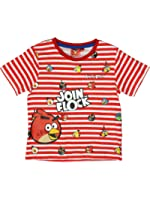 Angry Birds Official Boys T-Shirt Short Sleeve Age 4/10 Years