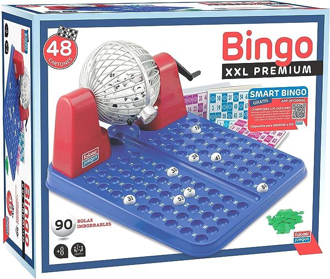 Falomir - Bingo XXL Premium (23030): Amazon.es: Juguetes y juegos