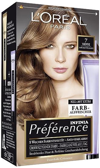 Haarfarbe blond von loreal