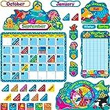 TREND enterprises, Inc. Sea Buddies Calendar Bulletin Board Set