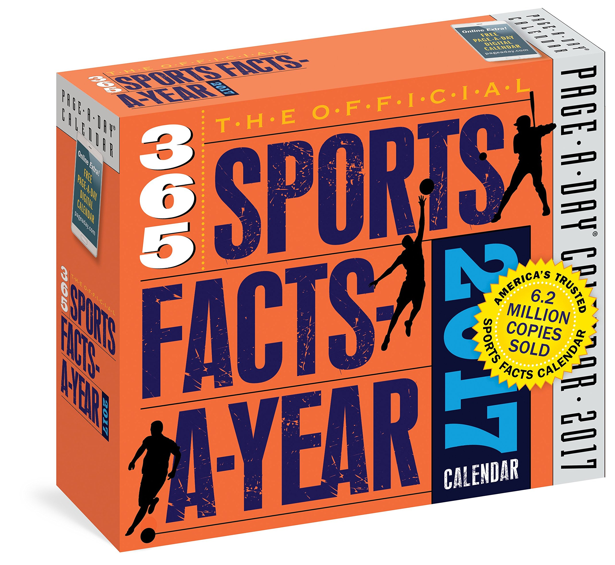 Official Sports Facts Year Calendar product image